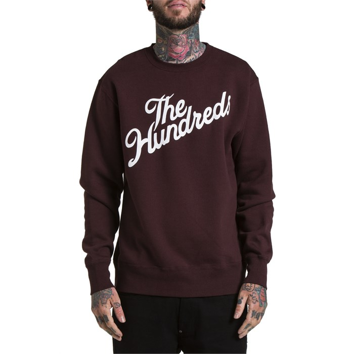 The Hundreds - Forever Slant Crew Neck Sweatshirt