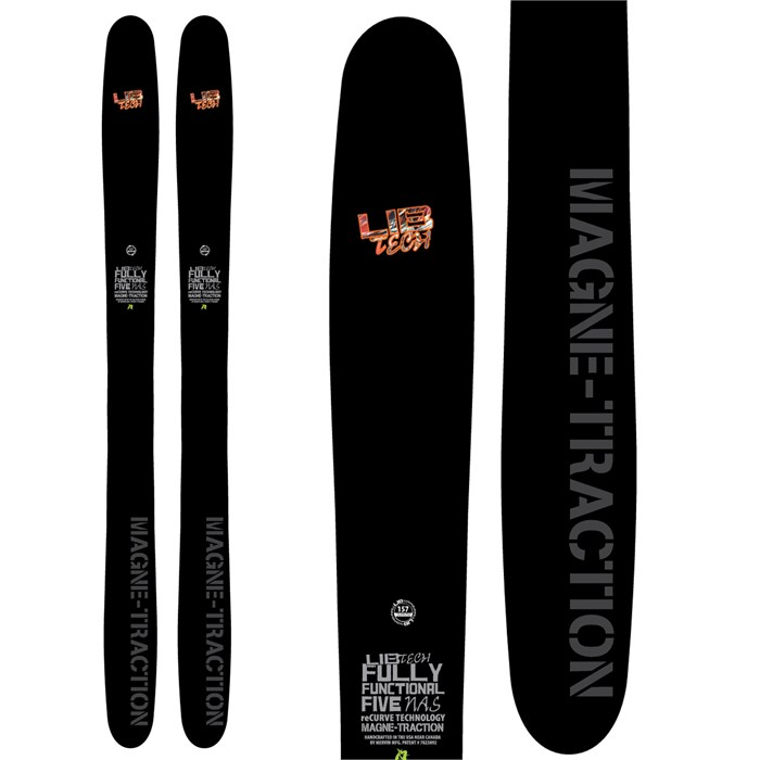 Lib Tech - Lib Tech Fully Functional Five NAS ReCurve Skis 2014