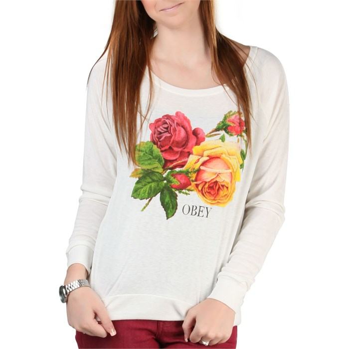 Obey Clothing - Bed Of Roses Sweatshirt - Women's