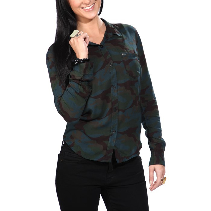 Obey Clothing - Hyde Button-Down Shirt - Women's
