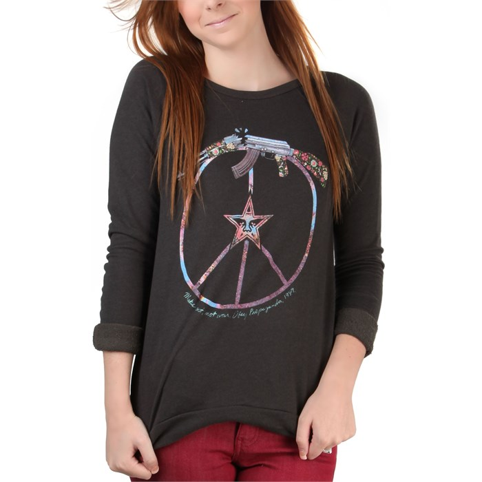 Obey Clothing - Broken Gun Crew Neck Fleece - Women's