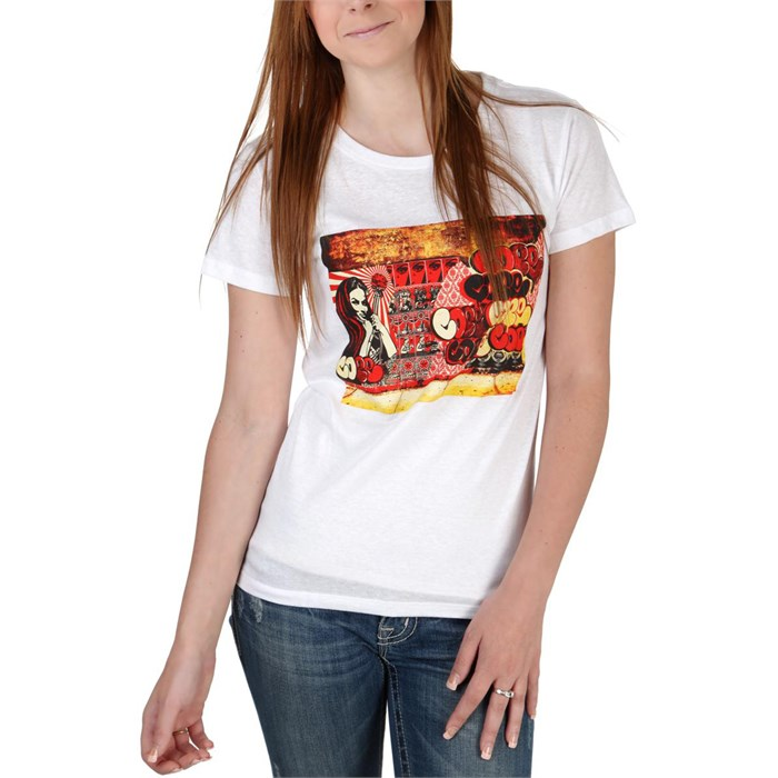 Obey Clothing - X Cope2 Poster T-Shirt - Women's