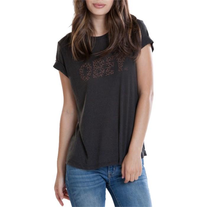 Obey Clothing - Cheetah Font T-Shirt - Women's