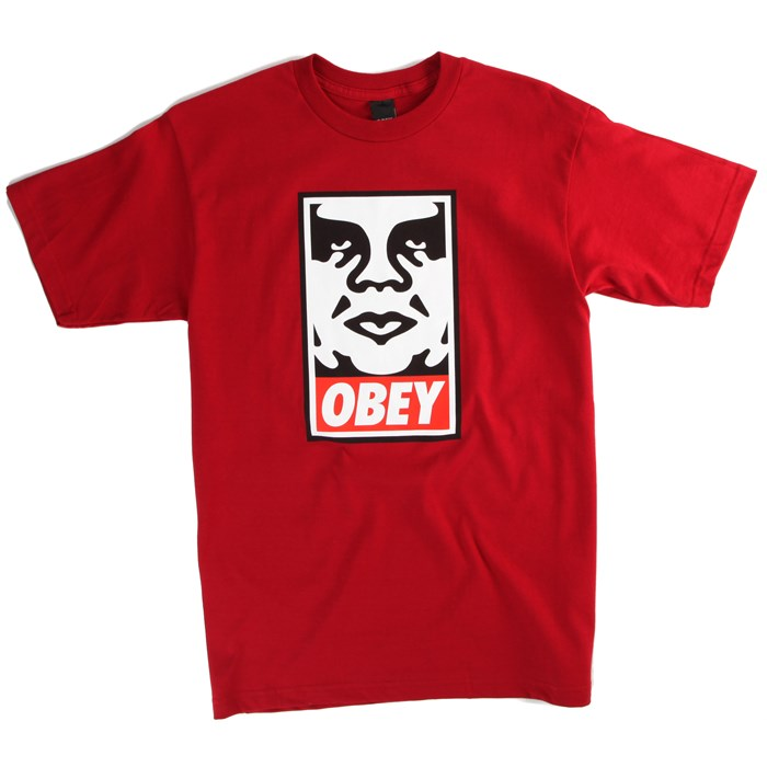 Obey Clothing - Icon Face T-Shirt