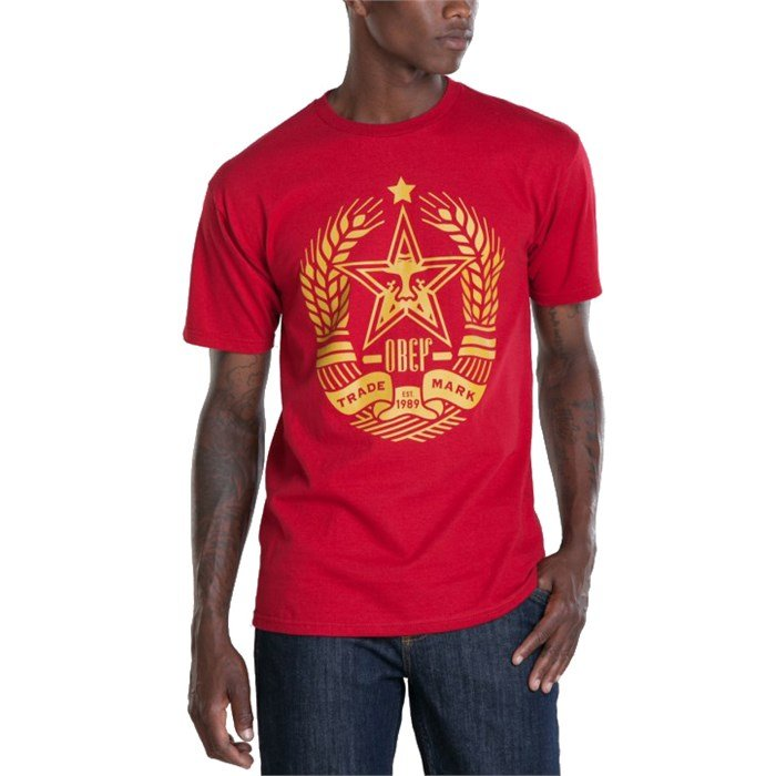 Obey Clothing - Star Crest T-Shirt