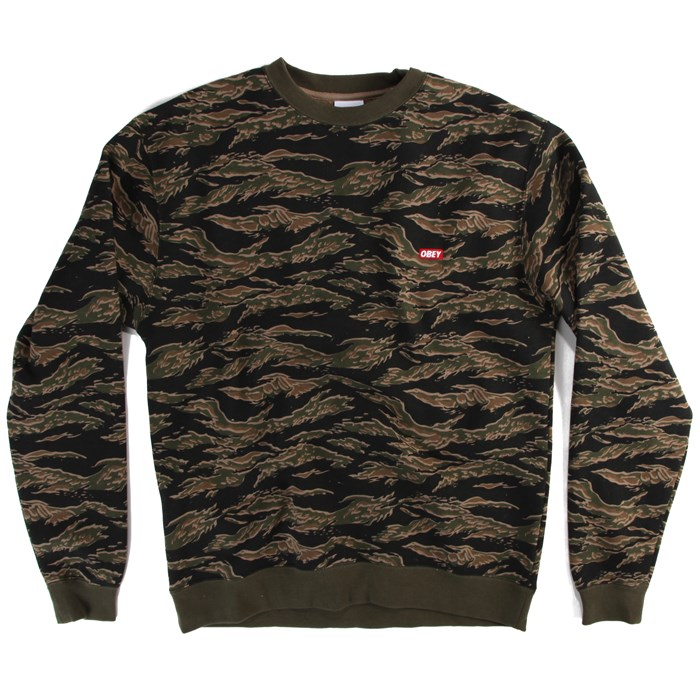 Obey Clothing - Bar Logo Crew Neck Sweatshirt