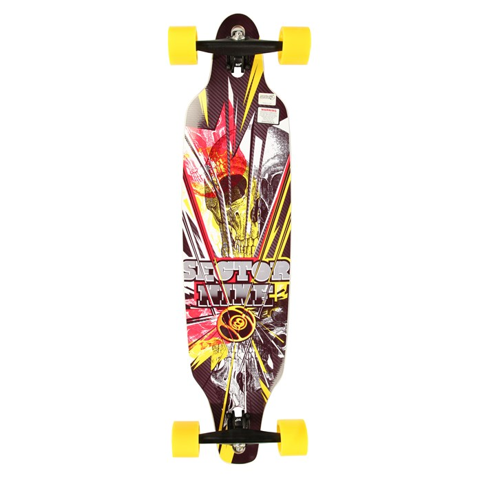 Sector 9 - Fractured Longboard Complete