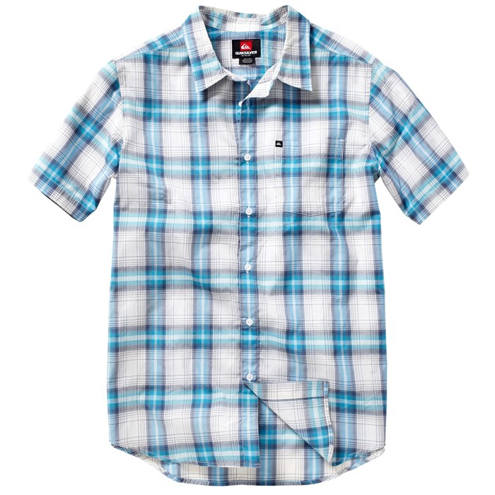 Quiksilver - Quiksilver Waves Ghetto Short-Sleeve Button-Down Shirt