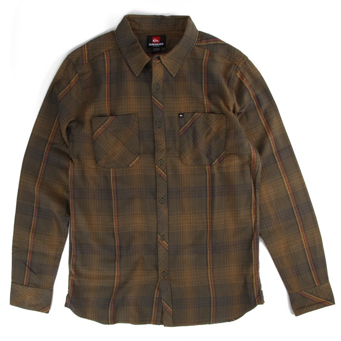 Quiksilver - Garage Shape Button-Down Shirt
