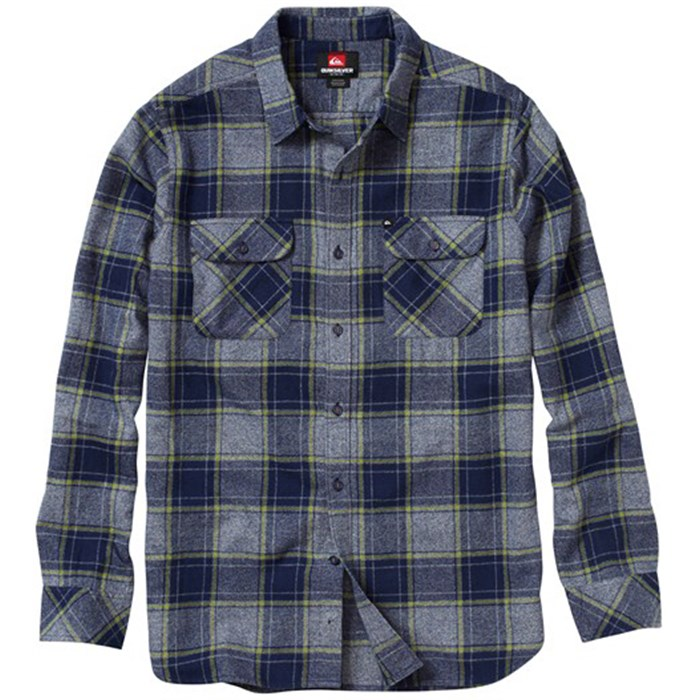 Quiksilver - Fuzzy Goggles Button-Down Shirt