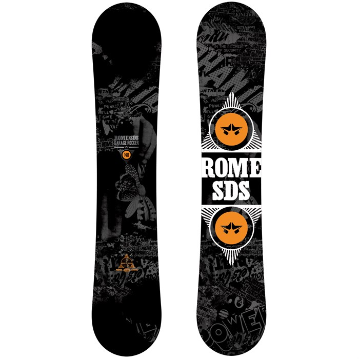 Rome - Garage Rocker Snowboard 2014