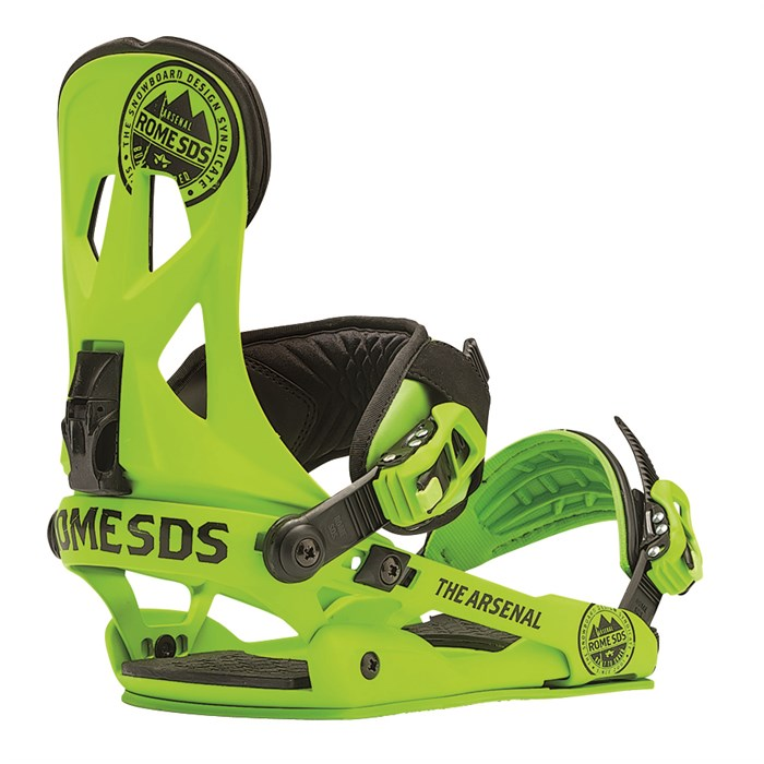 Rome - Arsenal Snowboard Bindings 2014