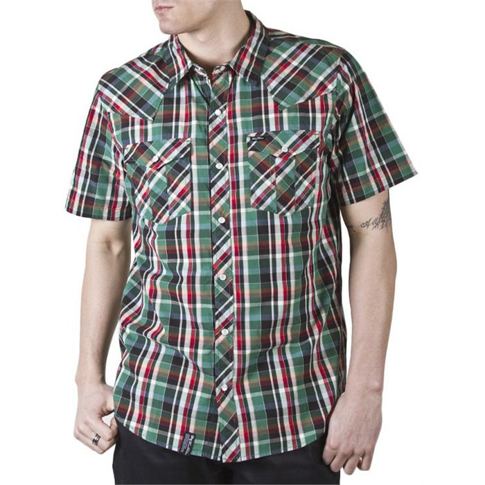 LRG - Cornelius Short-Sleeve Button-Down Shirt