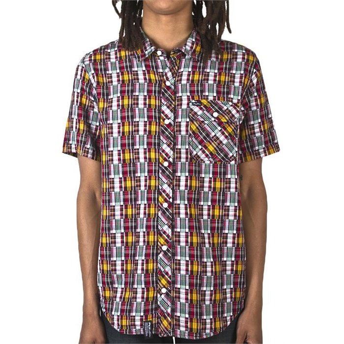 LRG - Blotter Short-Sleeve Button-Down Shirt