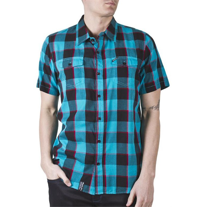 LRG - Innovative Essence Short-Sleeve Button-Down Shirt