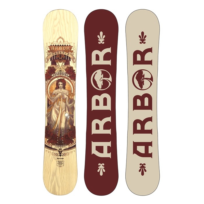 Arbor - Cadence Snowboard - Women's 2014
