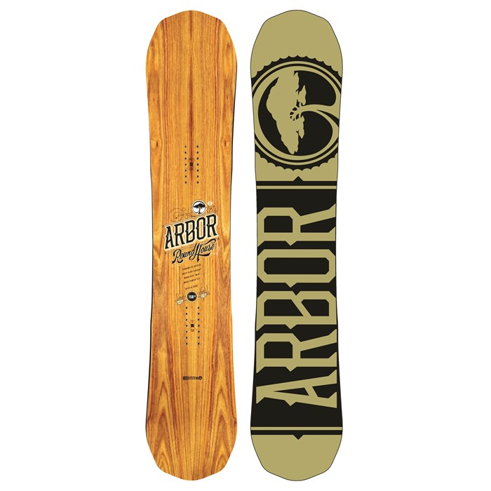 Arbor - Roundhouse Snowboard 2014
