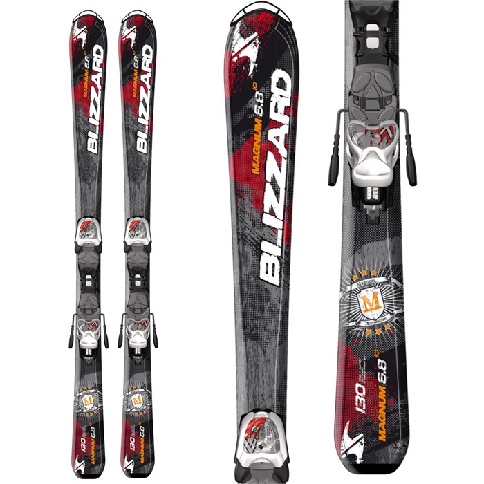 Blizzard - Magnum Jr Skis + IQ 7 Bindings - Boy's 2014