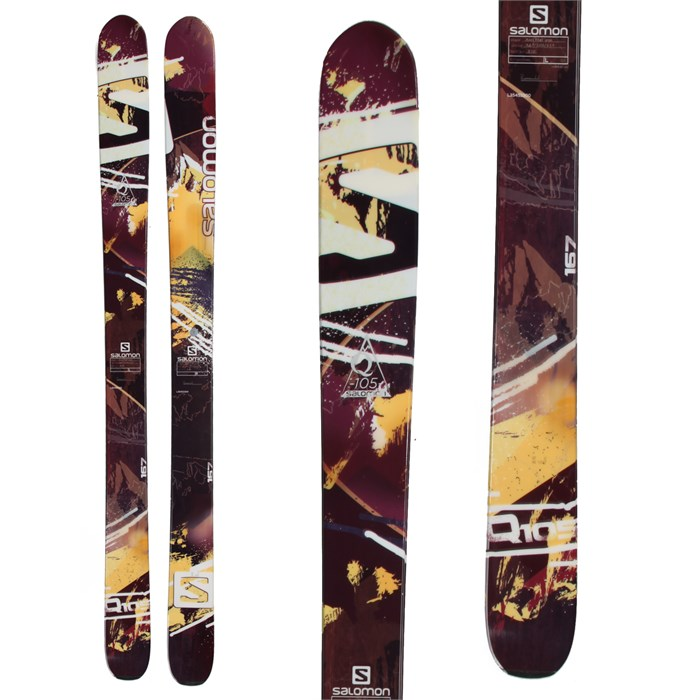 Salomon - Q-105 Skis 2014