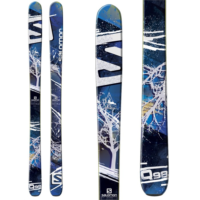 Salomon - Q-98 Skis 2014