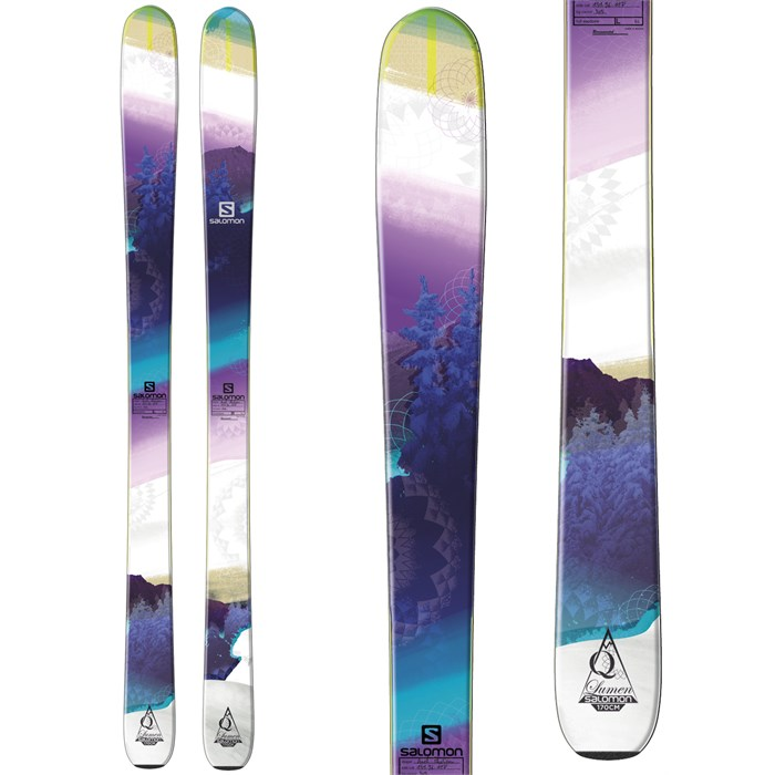 Salomon - Q-96 Lumen Skis - Women's 2014