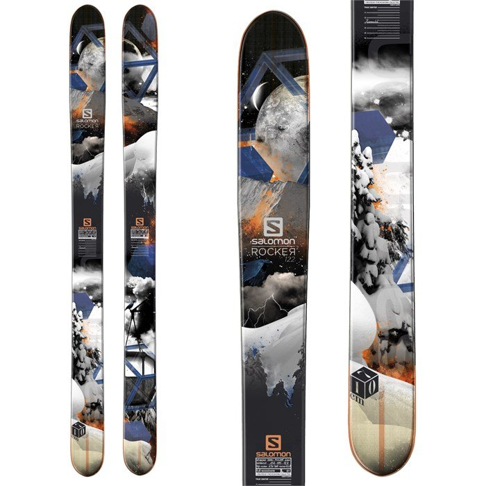 Salomon - Rocker2 122 Skis 2014