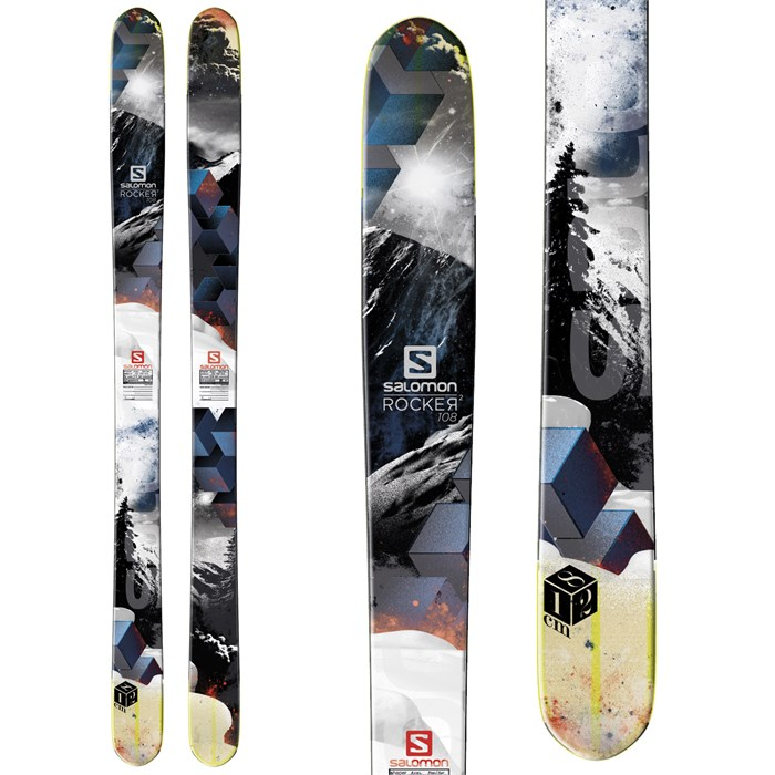 Salomon - Salomon Rocker2 108 Skis 2014