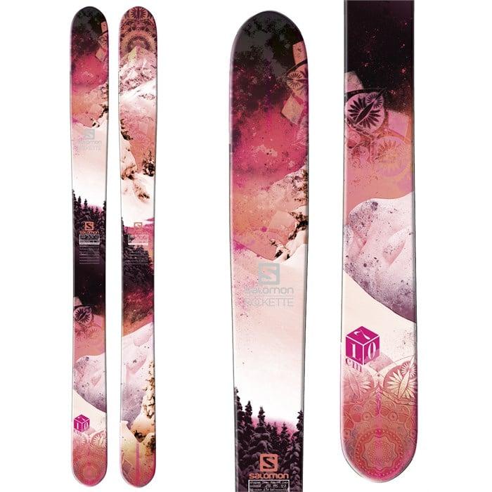 Salomon Rockette 115 Skis Women's 2013 | evo