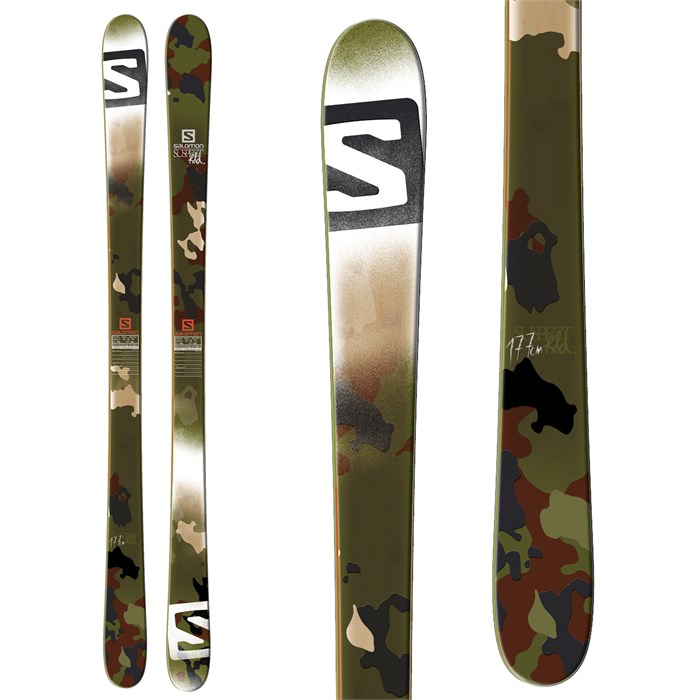 Salomon - Suspect Skis 2014