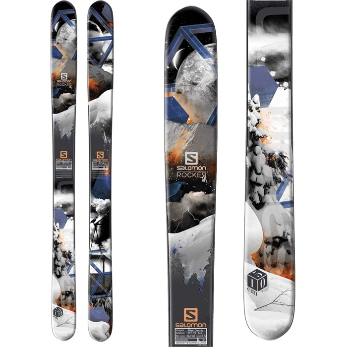 Salomon - Rocker2 Jr Skis - Boy's 2014