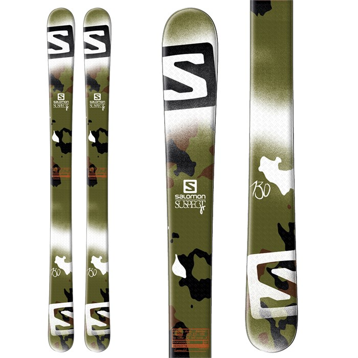 Salomon - Suspect Jr Skis - Boy's 2014