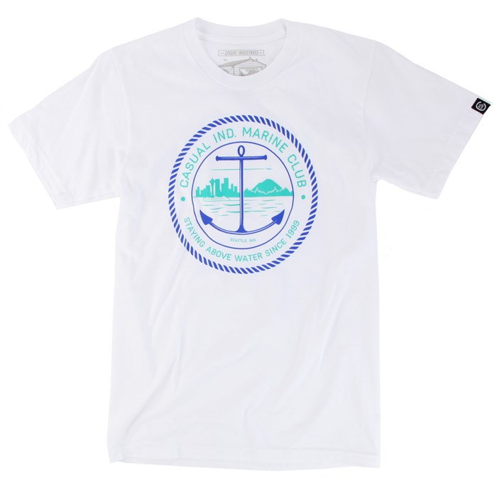 Casual Industrees - Marine Club T-Shirt