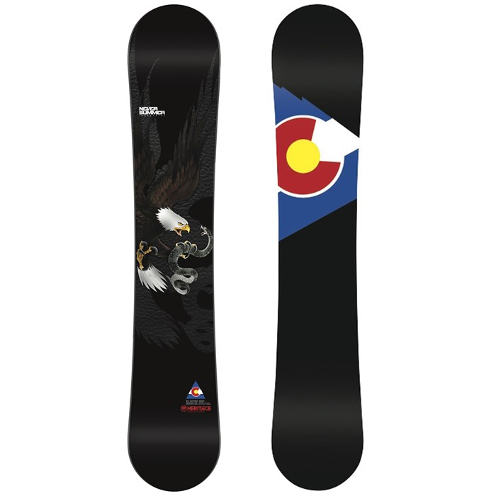 Never Summer - Heritage Snowboard 2014