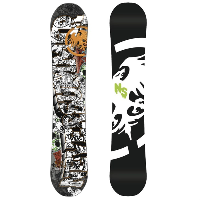 Never Summer - Evo 4.0 Snowboard 2014
