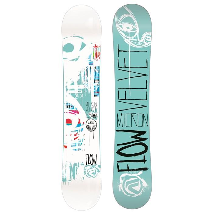 Flow - Micron Velvet Snowboard - Girl's 2014
