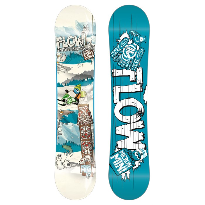 Flow - Micron Mini Snowboard - Kid's 2014