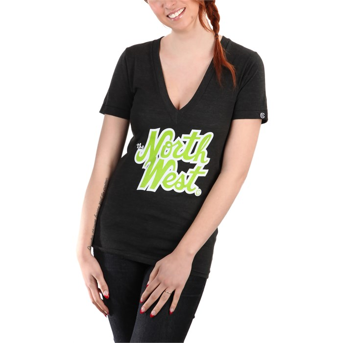 Casual Industrees - The Northwest V-Neck T-Shirt - Women's
