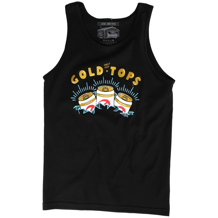 Casual Industrees - (Only Pop) Gold Tops Tank Top