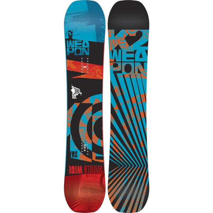 K2 - WWW (World Wide Weapon) Rocker Snowboard 2014