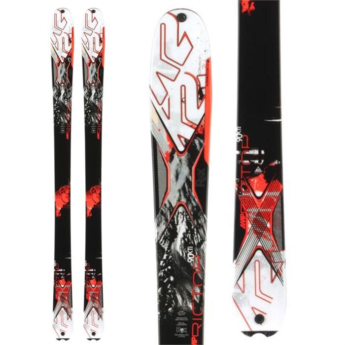 K2 - AMP Rictor 90XTi Skis 2014