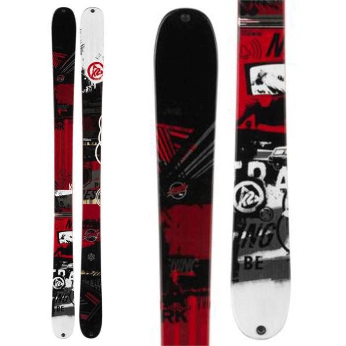 K2 - K2 Shreditor 102 Skis 2014