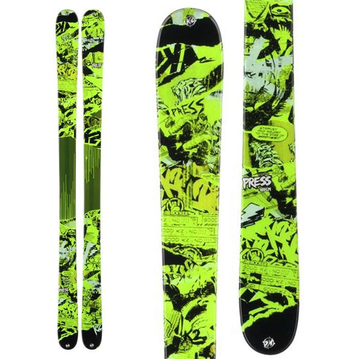 K2 - Press Skis 2014
