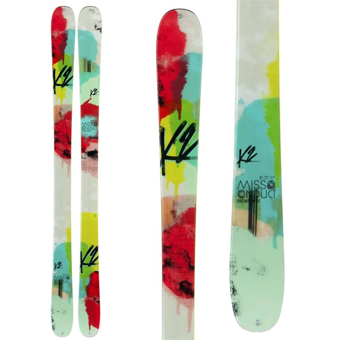 K2 - MissConduct Skis - Women's 2014