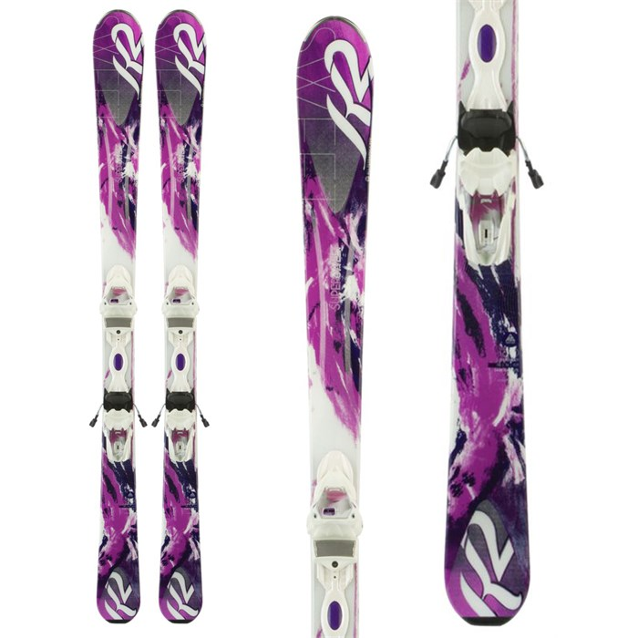 K2 - SuperSweet 74 Skis + ER3 10 Bindings - Women's 2014