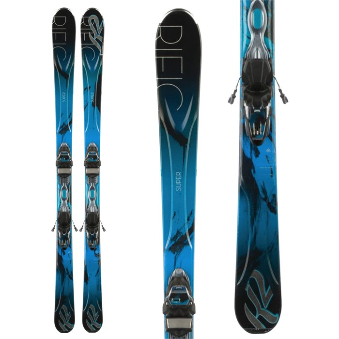 K2 - Superific 76 Skis + ER3 10 Bindings - Women's 2014