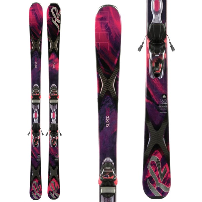K2 - SuperFree 76 Skis + ER3 10 Bindings - Women's 2014