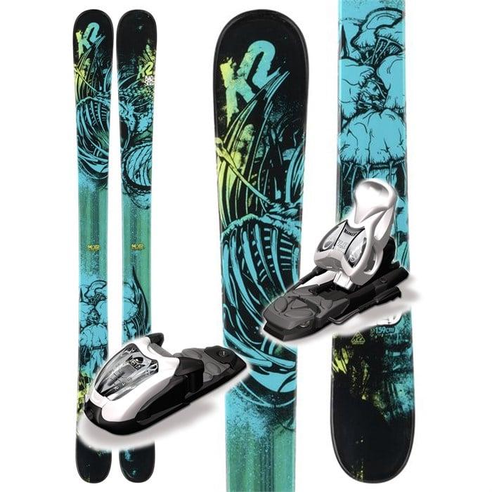 K2 - Bad Seed Skis + Fastrak2 7 Bindings - Boy's 2013