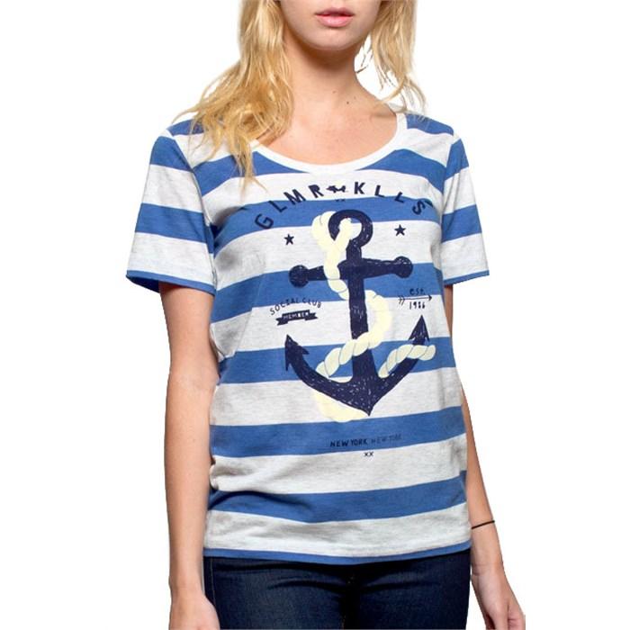 Glamour Kills - The Union Girls Scoop Neck T-Shirt - Women's
