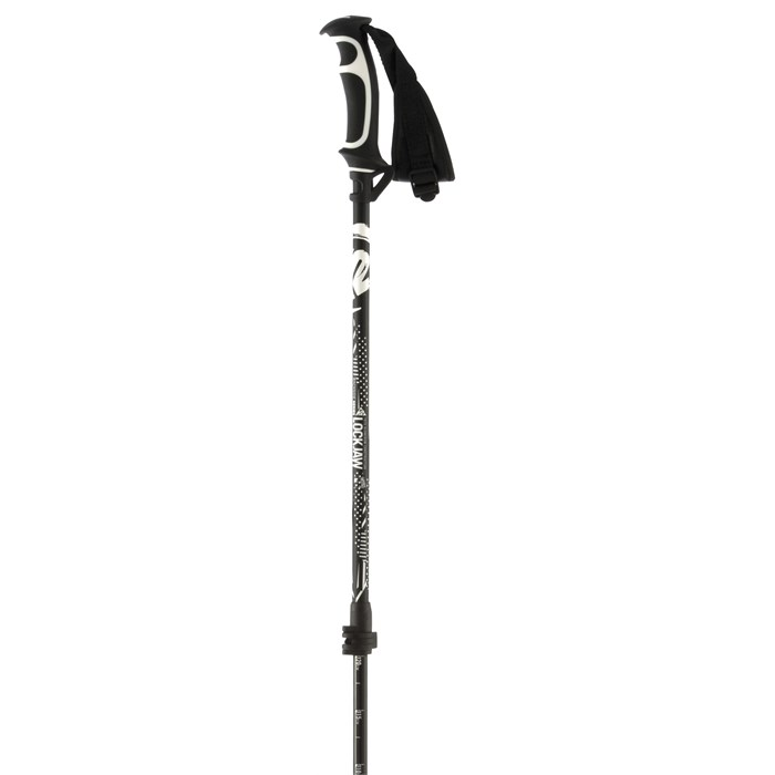 K2 - LockJaw Aluminum Adjustable Ski Poles 2015