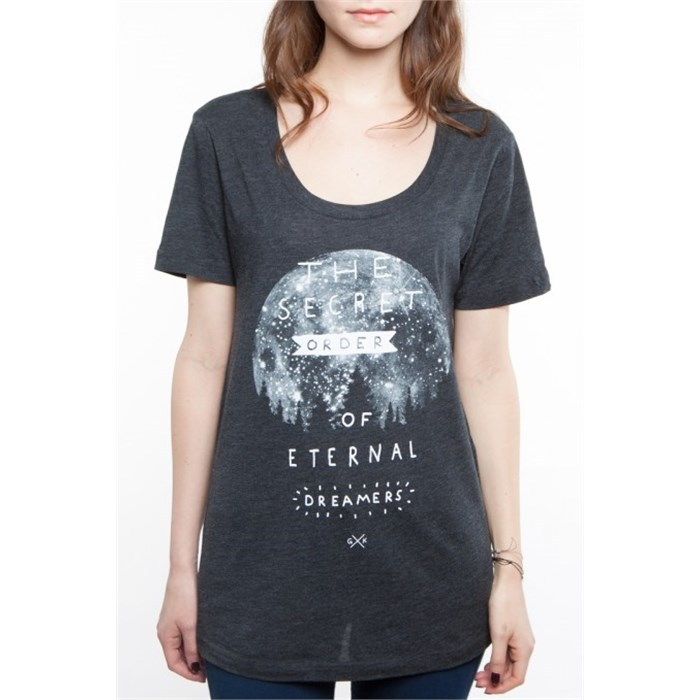 Glamour Kills - Glamour Kills The Secret Order Scoop Neck T-Shirt - Women's